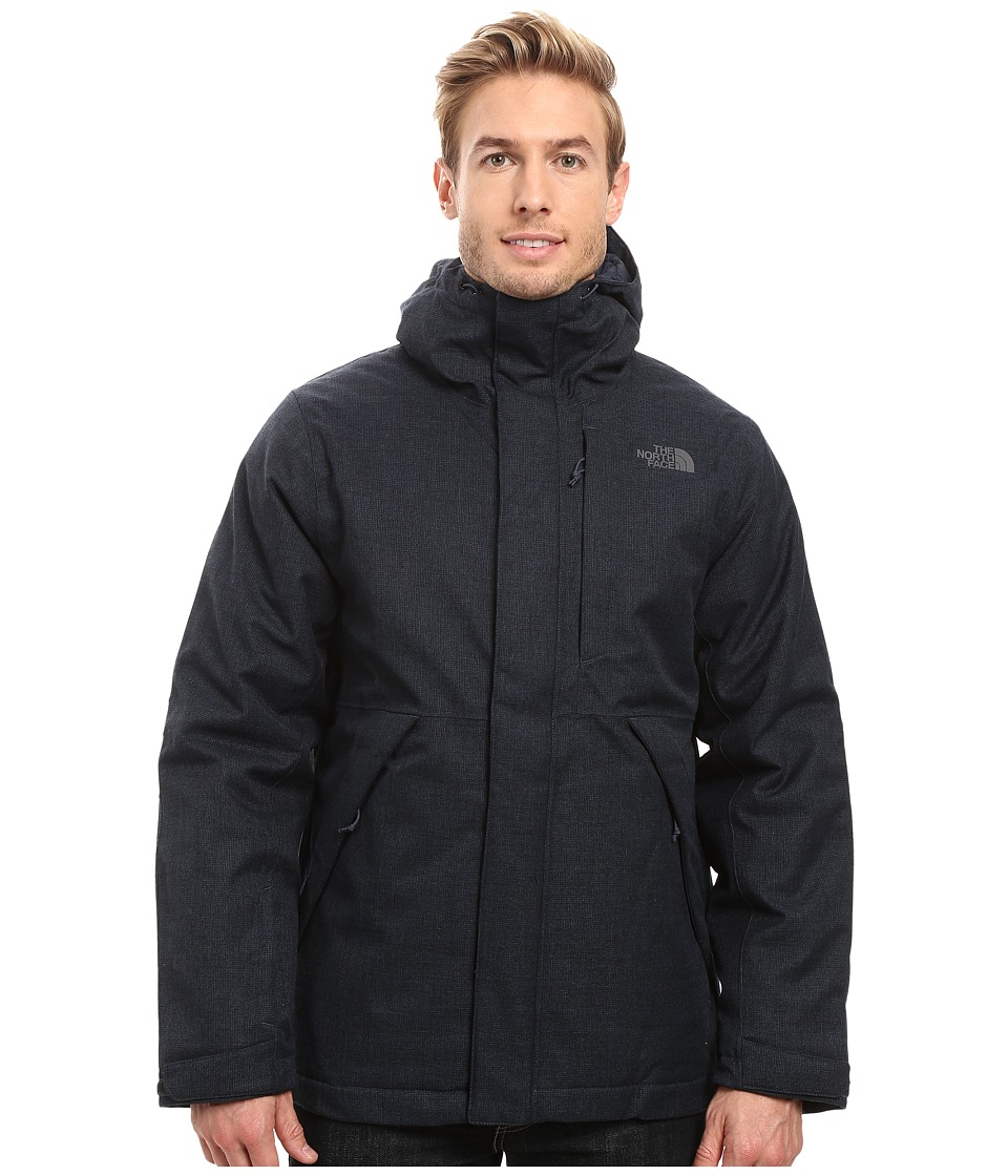 The North Face - Tweed Stanwix Jacket (Urban Navy Tweed) Men's Coat