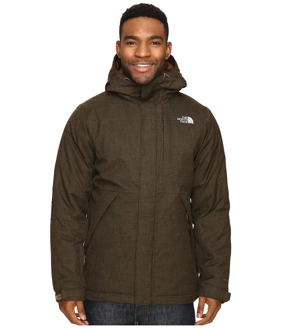 The North Face - Tweed Stanwix Jacket (Brown Field Tweed) Men's Coat