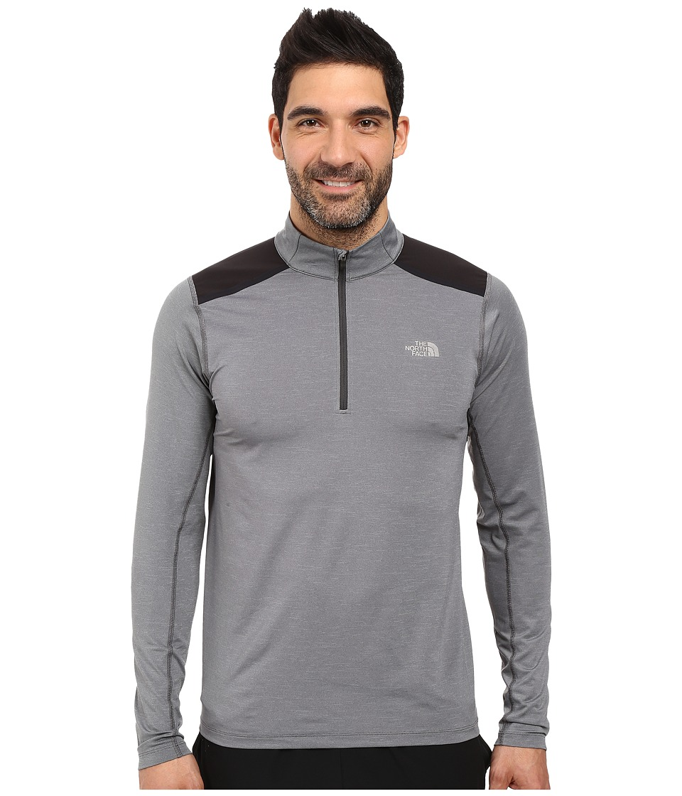 The North Face - Kilowatt 1/4 Zip (TNF Medium Grey Heather) Men's Long Sleeve Button Up