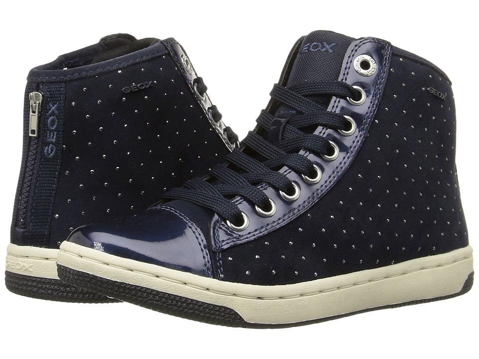 Geox Kids - Jr Creamy 44 (Big Kid) (Navy) Girl's Shoes