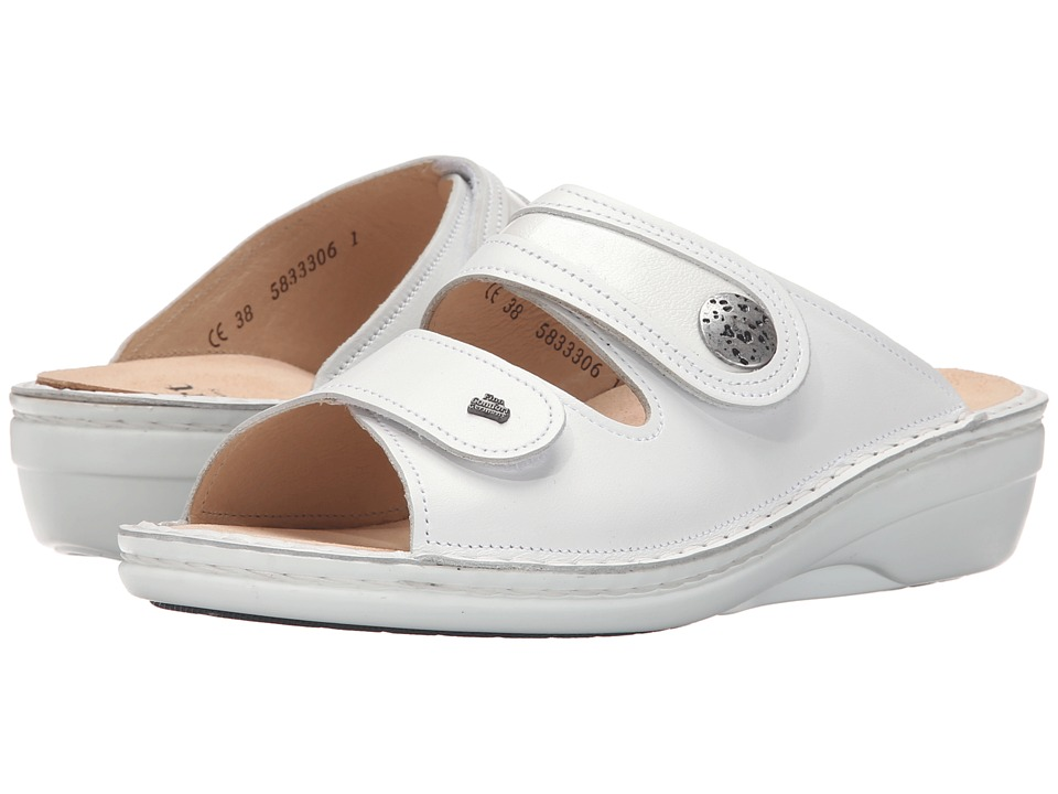 Finn Comfort - Mira (White) Women's Sandals
