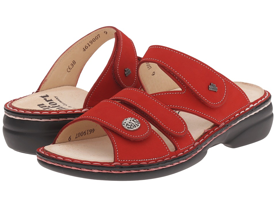 Finn Comfort - Soft Ventura - 82568 (Red) Women's Slide Shoes