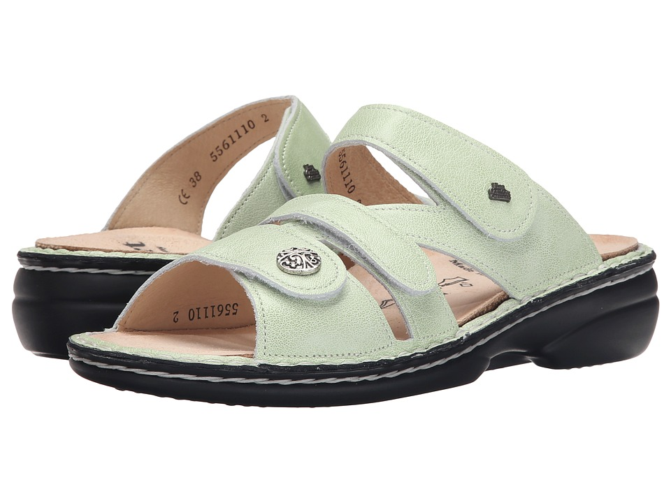 Finn Comfort - Soft Ventura - 82568 (Mint) Women's Slide Shoes