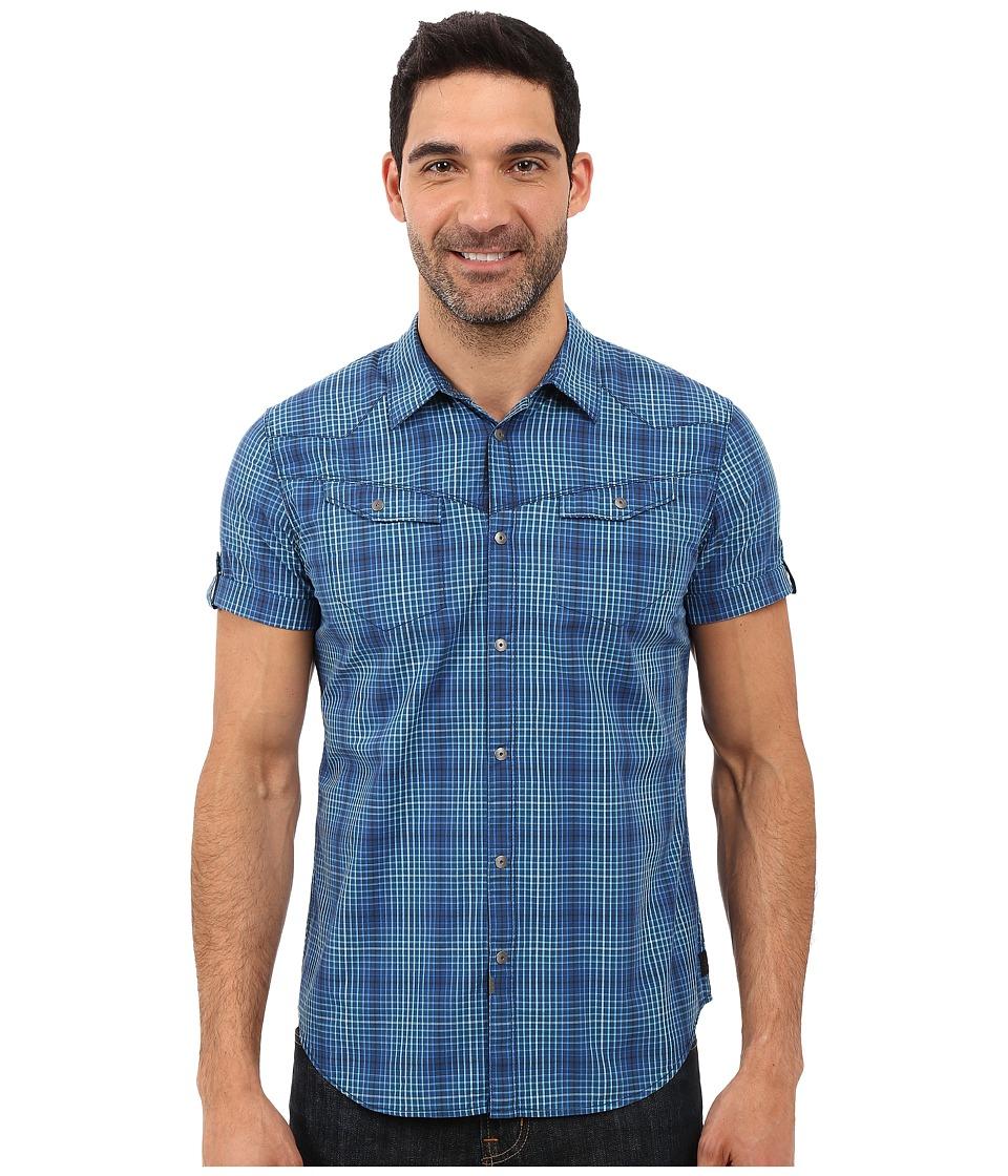 Calvin Klein Jeans - Rolling Plaid (Ultramarine) Men's Clothing