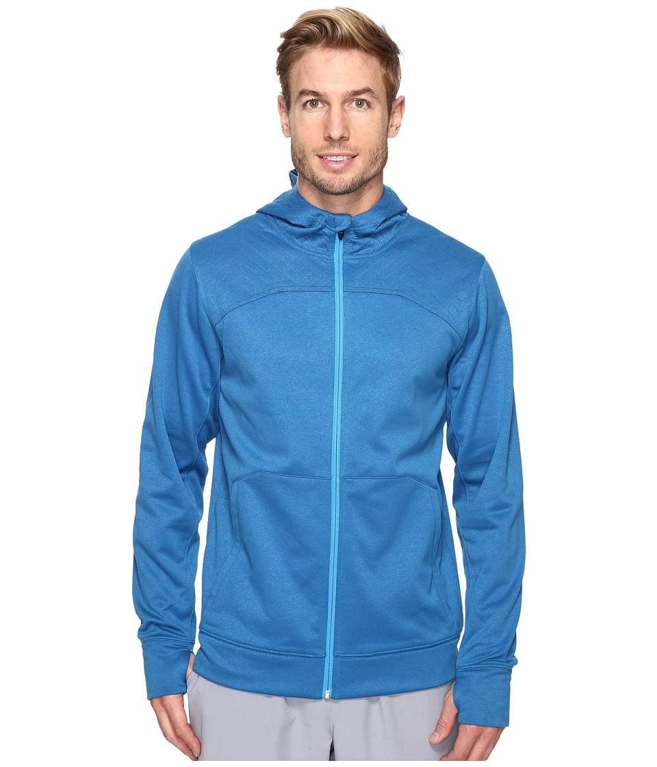 The North Face - Ampere Full Zip Hoodie (Banff Blue/Blue Aster (Prior Season)) Men's Sweatshirt
