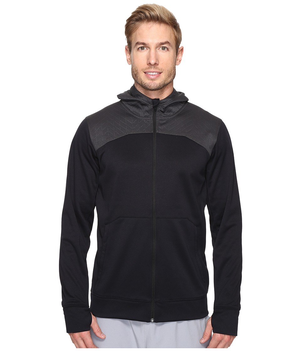 The North Face - Ampere Full Zip Hoodie (TNF Black/Asphalt Grey) Men's Sweatshirt