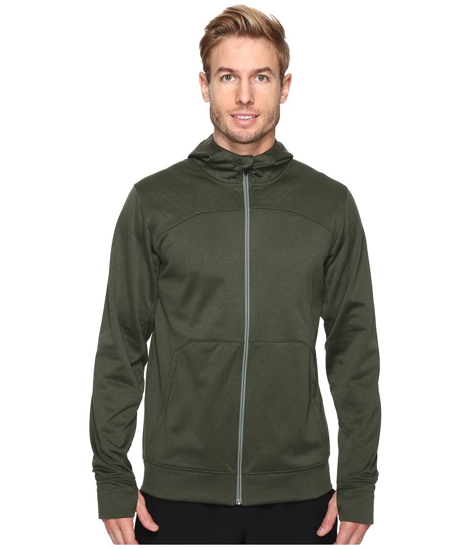 The North Face - Ampere Full Zip Hoodie (Climbing Ivy Green/Duck Green) Men's Sweatshirt