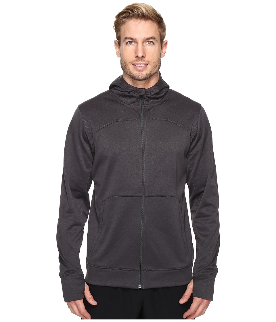 The North Face - Ampere Full Zip Hoodie (Asphalt Grey/High Rise Grey) Men's Sweatshirt