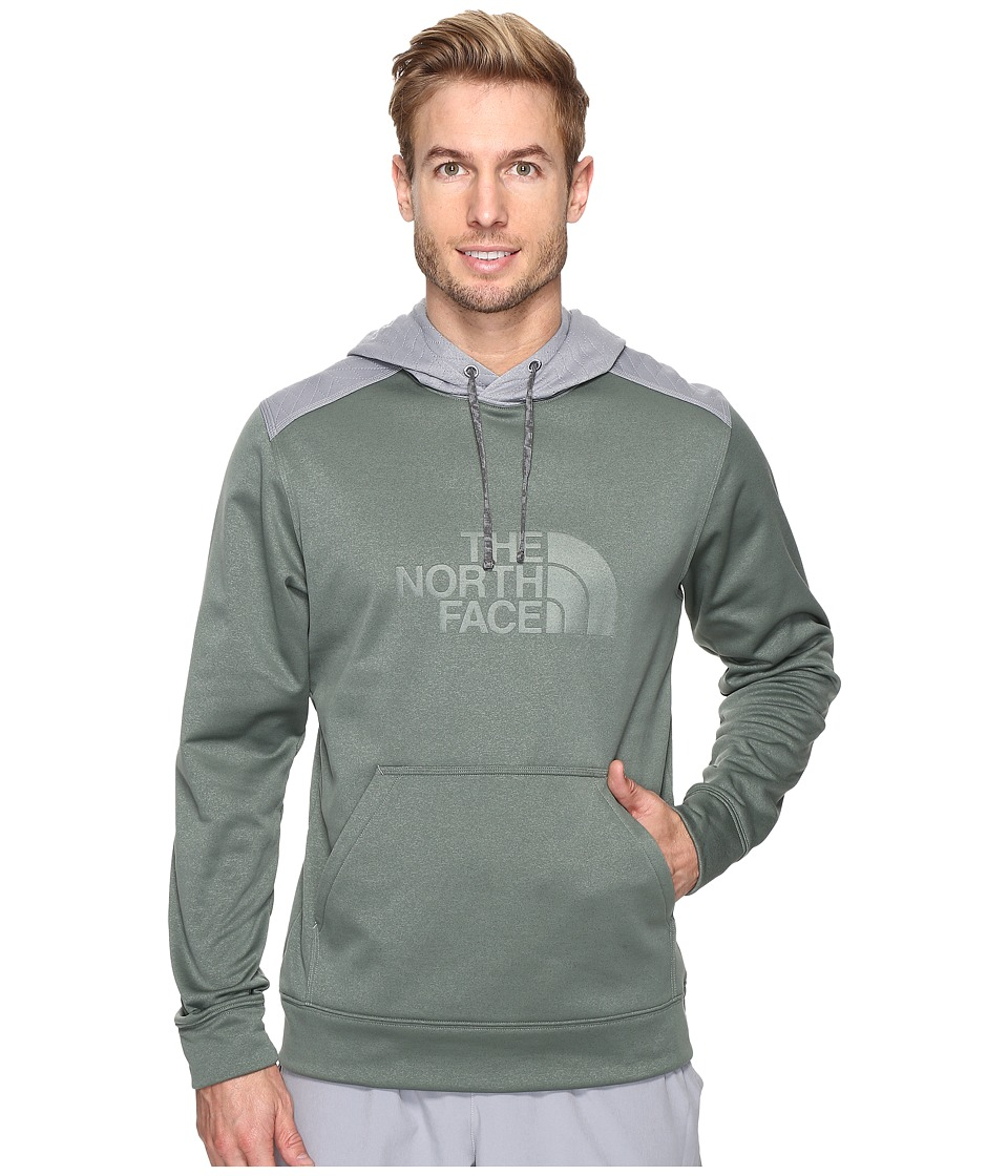 The North Face - Ampere Pullover Hoodie (Duck Green) Men's Sweatshirt