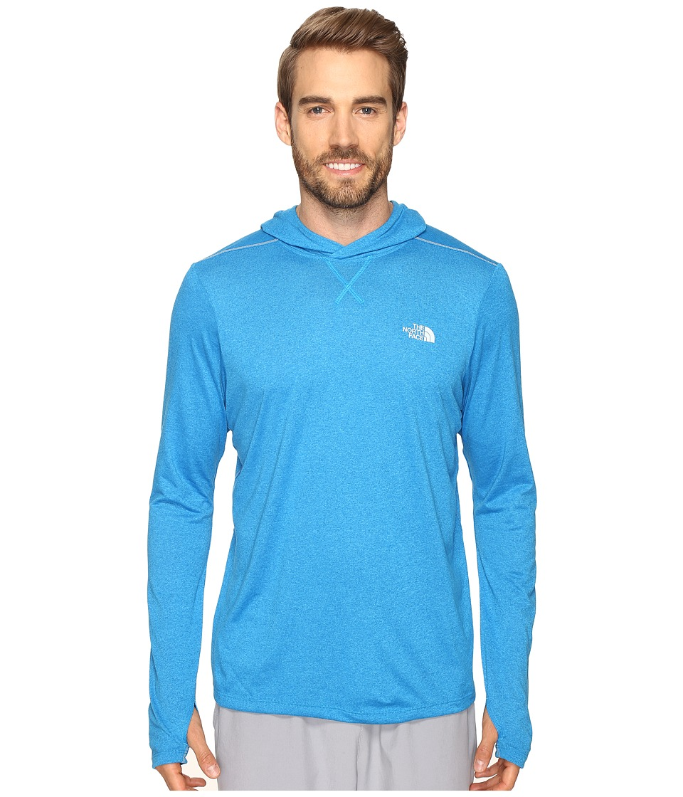 The North Face - Reactor Hoodie (Blue Aster Heather) Men's Sweatshirt