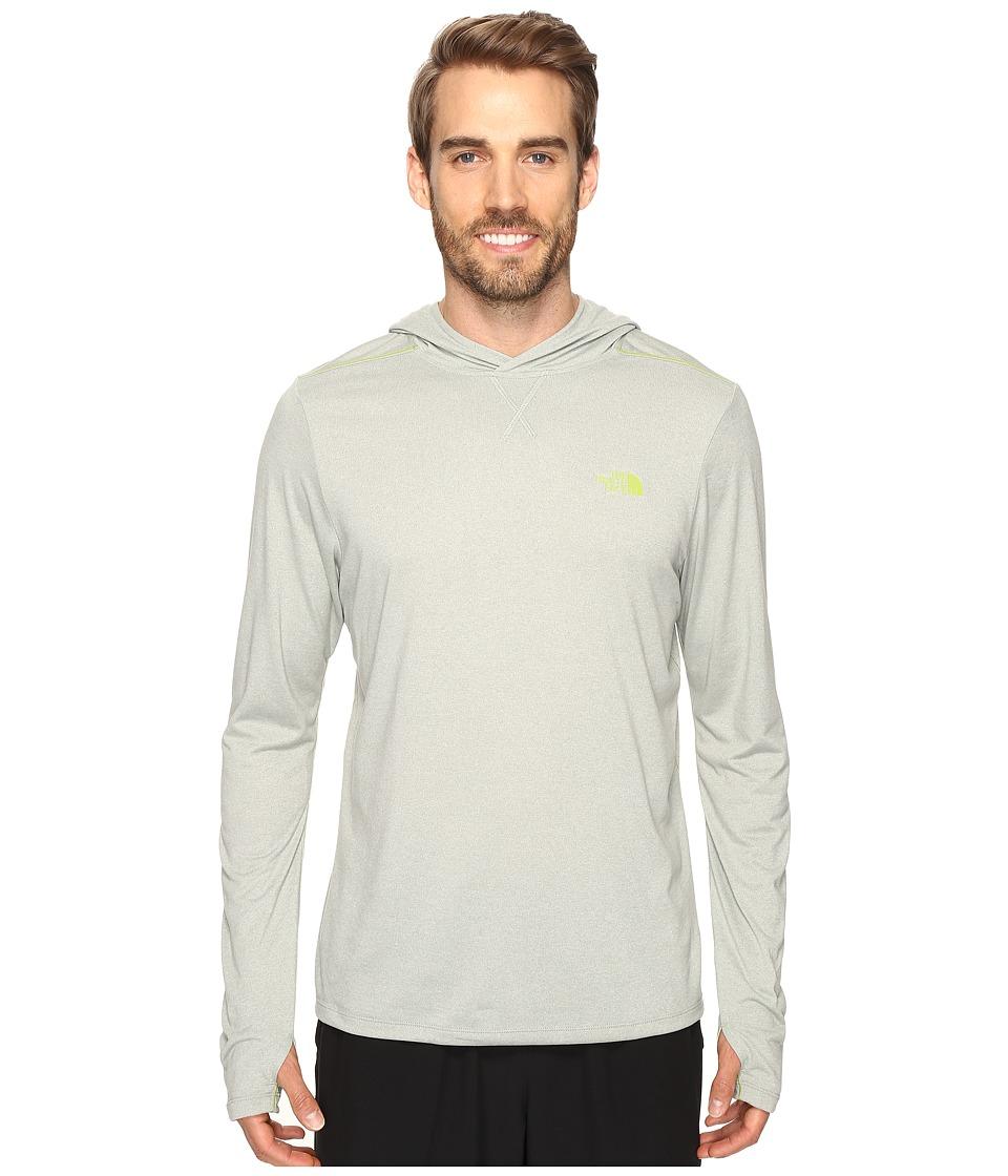 The North Face - Reactor Hoodie (Wrought Iron Heather) Men's Sweatshirt