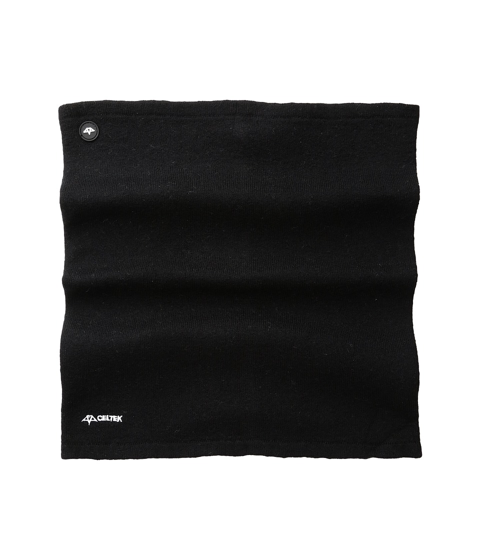 Celtek - Everest Neck Gaiter (Black) Scarves