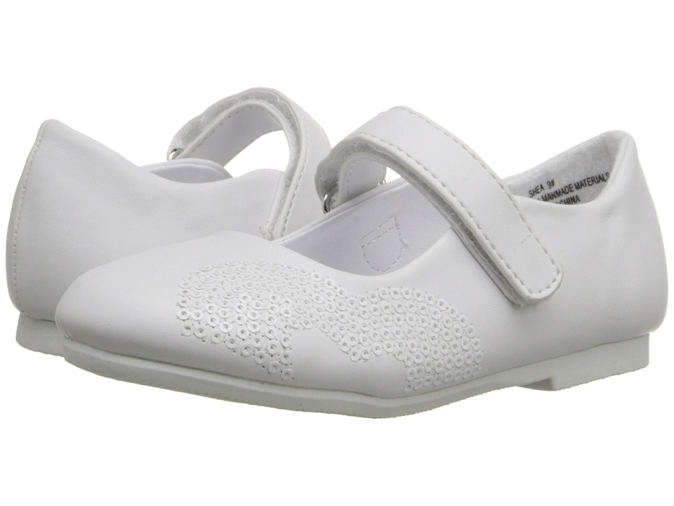 W6YZ - Shea (Toddler/Little Kid) (White) Girls Shoes
