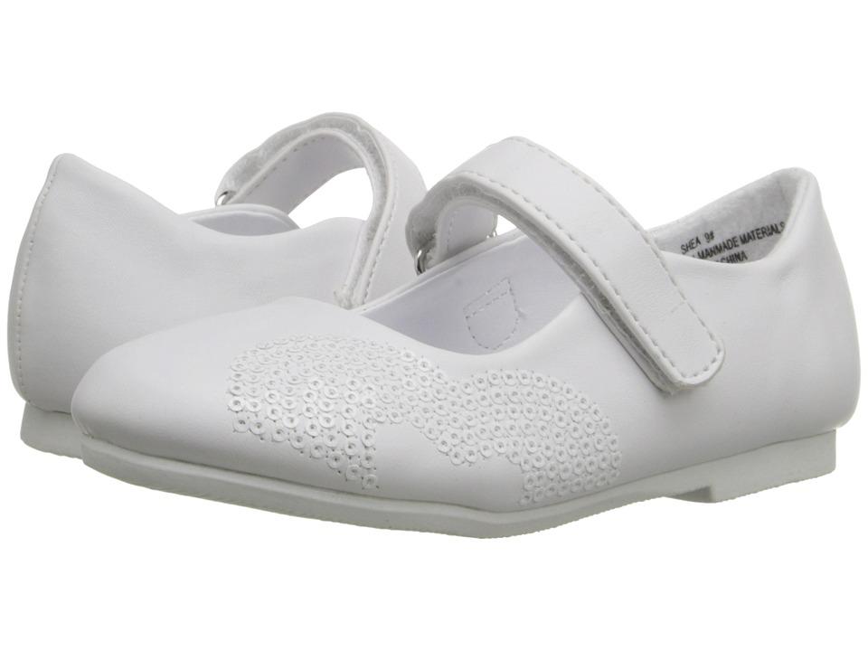 W6YZ Shea (Toddler/Little Kid) (White) Girls Shoes