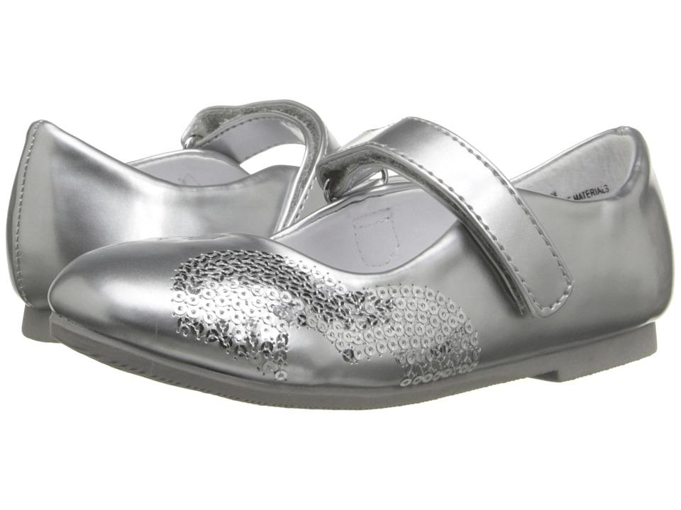 W6YZ Shea (Toddler/Little Kid) (Silver) Girls Shoes