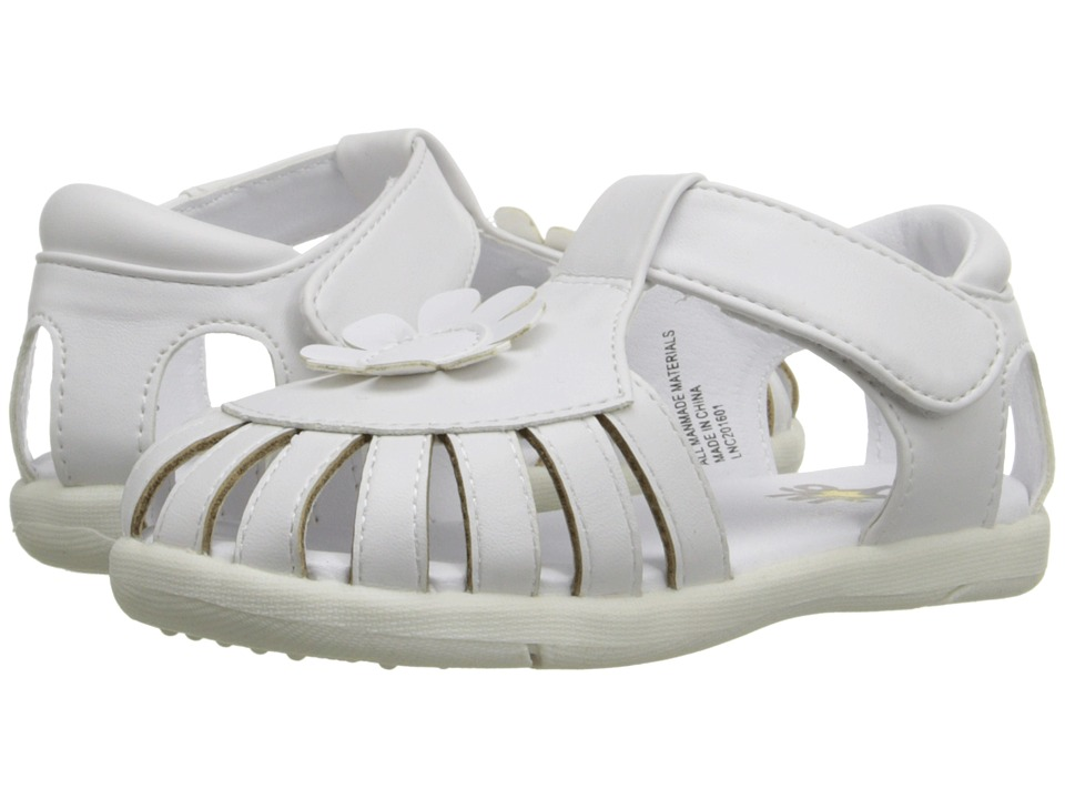 W6YZ - Gail (Toddler) (White) Girls Shoes