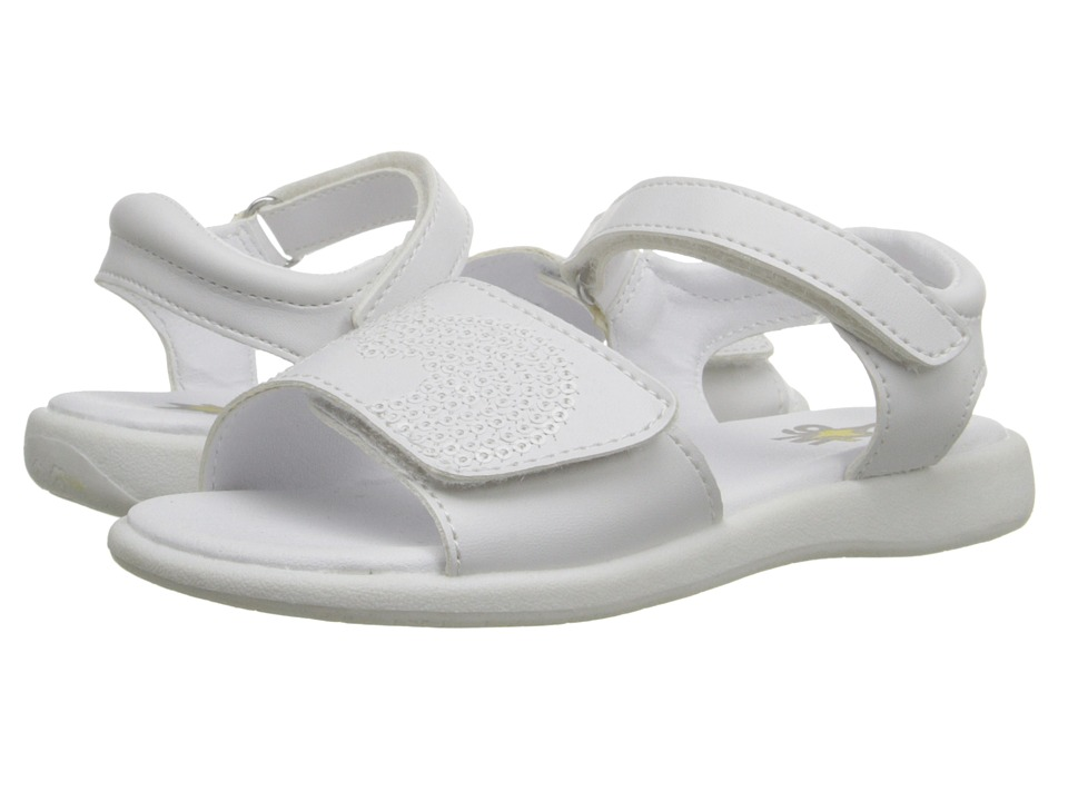 W6YZ - Leah (Toddler/Little Kid) (White) Girls Shoes