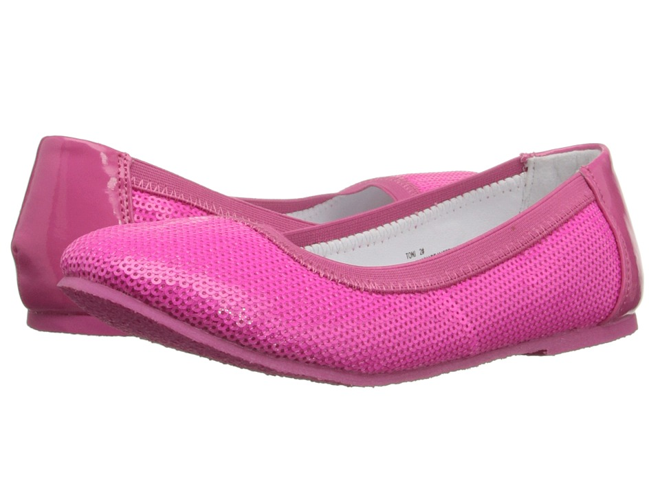 W6YZ - Toni (Little Kid/Big Kid) (Fuchsia) Girls Shoes