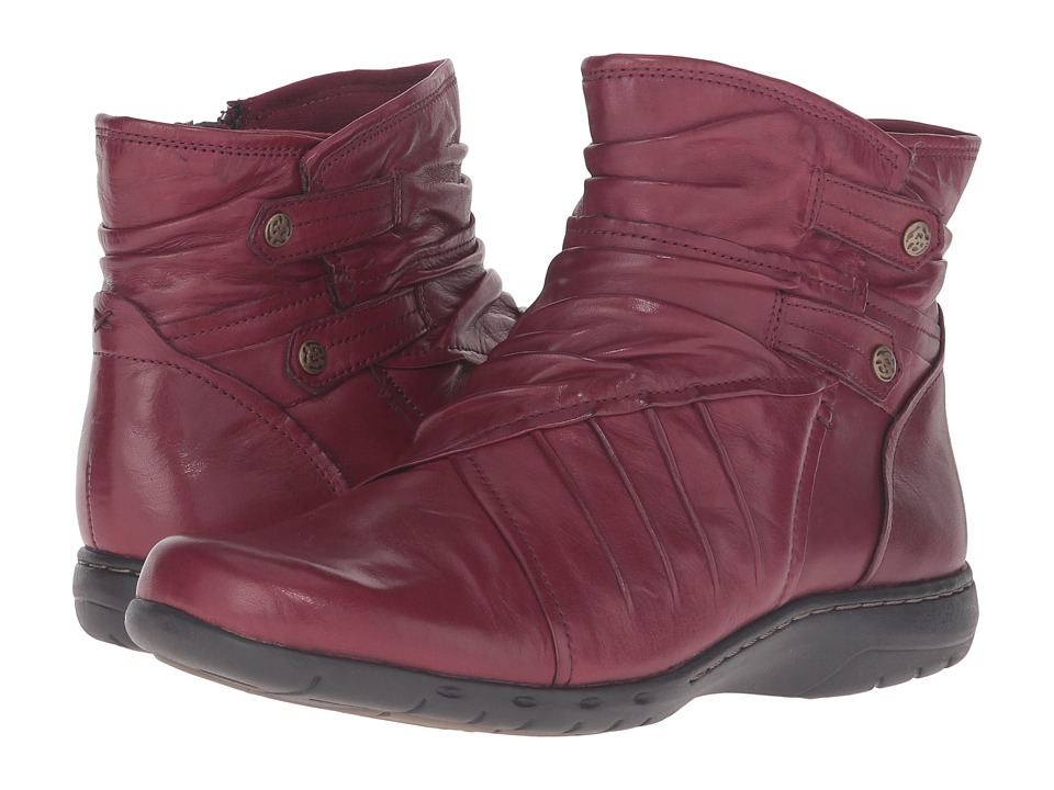 Rockport Cobb Hill Collection - Cobb Hill Pandora (Bordeaux) Women's Pull-on Boots