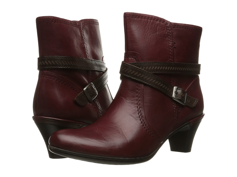 Rockport Cobb Hill Collection - Cobb Hill Missy (Wine) Women's Boots