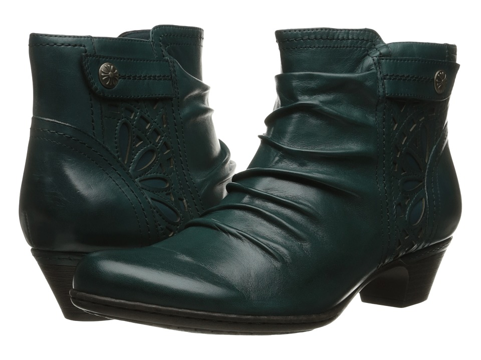 Rockport Cobb Hill Collection Cobb Hill Abilene Blue Teal Womens Boots