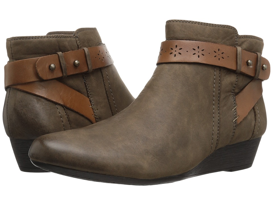 Rockport Cobb Hill Collection - Cobb Hill Joy (Stone) Women's Boots
