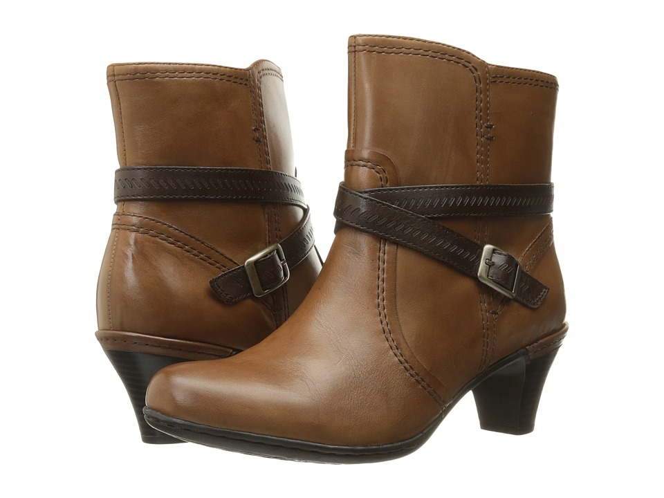 Rockport Cobb Hill Collection - Cobb Hill Missy (Almond) Women's Boots