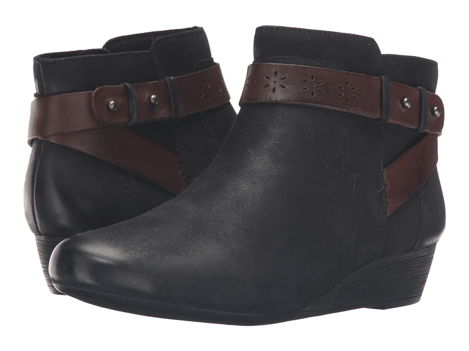 Rockport Cobb Hill Collection - Cobb Hill Joy (Black) Women's Boots