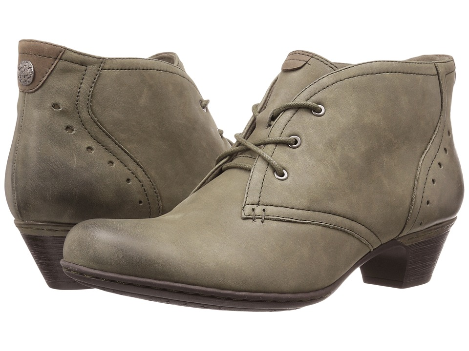 Rockport Cobb Hill Collection - Cobb Hill Aria (Dark Green) Women's Lace-up Boots