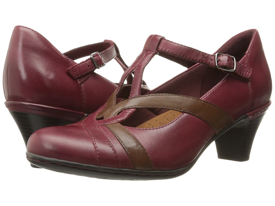 Rockport Cobb Hill Collection - Cobb Hill Marilyn (Wine) Women's Shoes