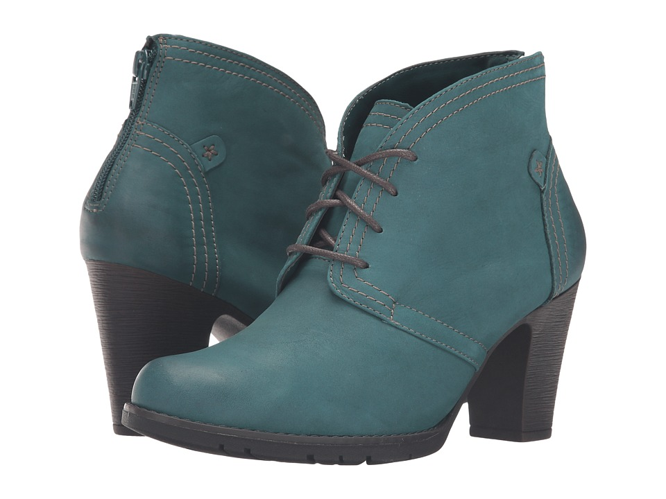 Rockport Cobb Hill Collection - Cobb Hill Keara (Teal) Women's Boots