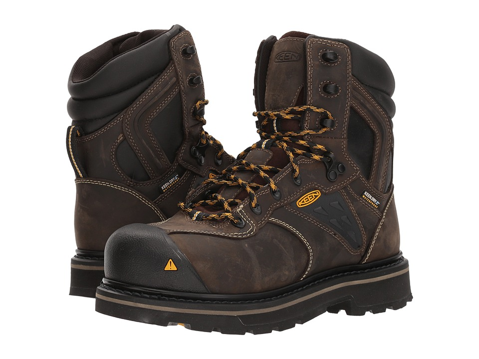 Keen Utility - Tacoma 8 XT CSA (Cascade Brown) Men's Work Boots