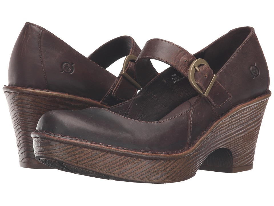Born Lezlie (Sand Full Grain Leather) Women