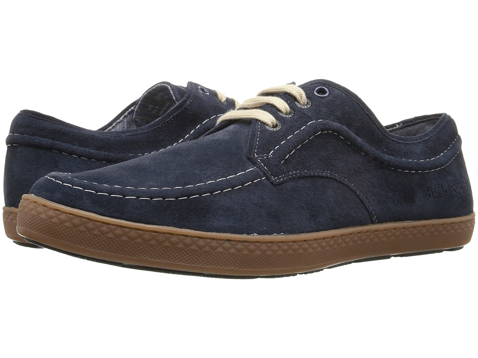 Hush Puppies Teague Roadcrew (Navy Suede/Gum) Men