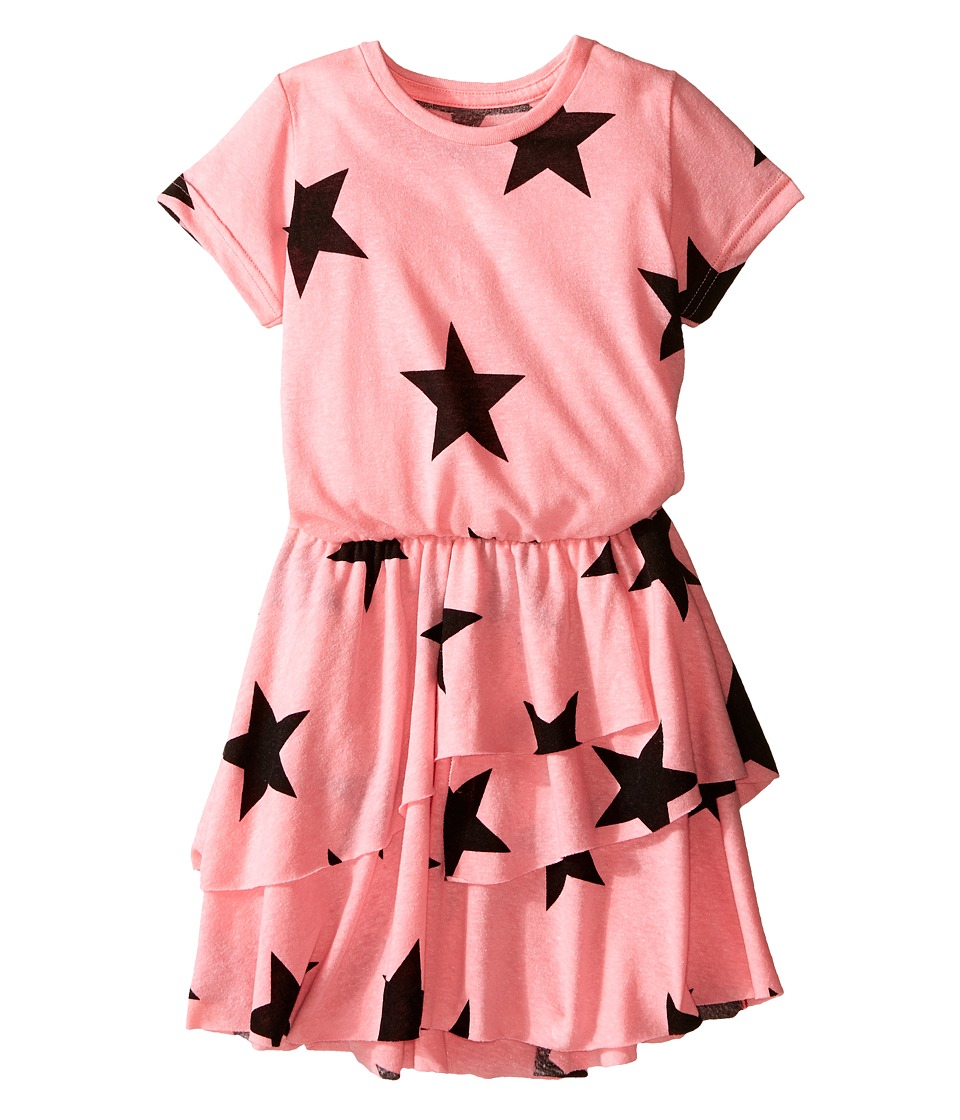 Nununu - Layered Star Dress (Toddler/Little Kids) (Pink) Girl's Dress