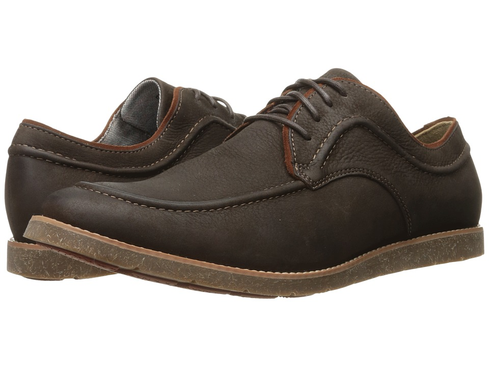 Hush Puppies - Hade Jester (Dark Brown Leather) Men's Lace up casual Shoes