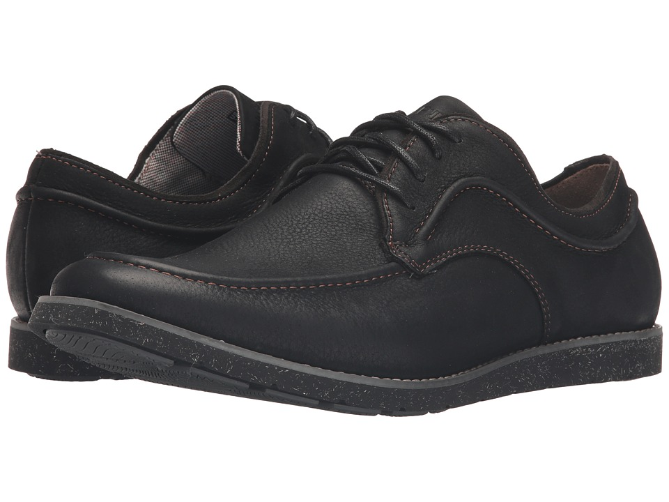 Hush Puppies Hade Jester (Black Leather) Men