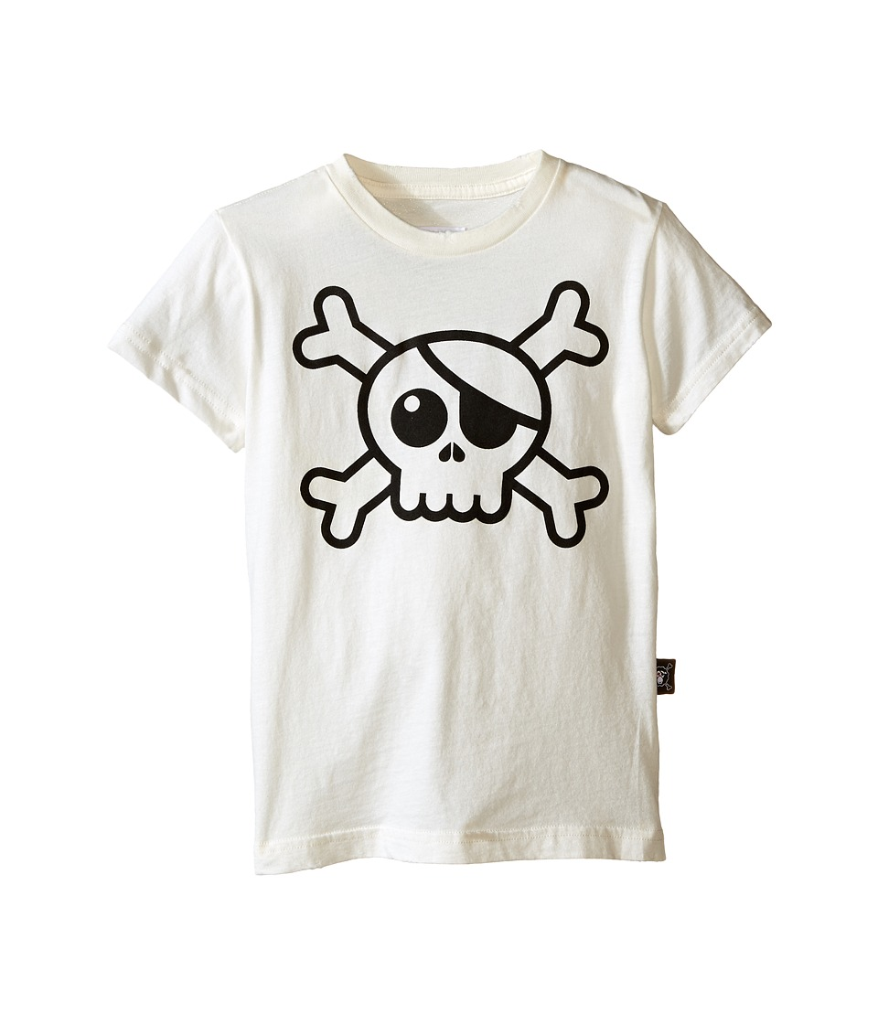 Nununu - Big Skull T-Shirt (Infant/Toddler/Little Kids) (White) Kid's T Shirt
