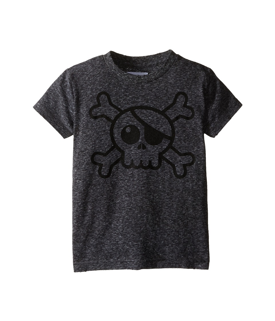 Nununu - Big Skull T-Shirt (Infant/Toddler/Little Kids) (Charcoal) Kid's T Shirt
