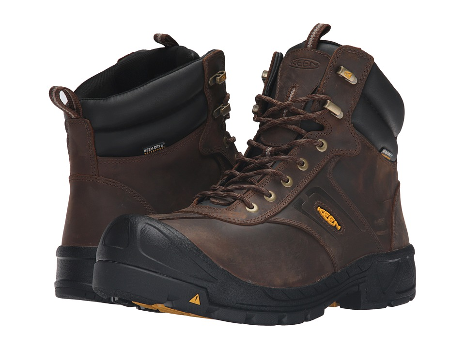 Keen Utility - Warren WP (Cascade Brown) Men's Work Boots