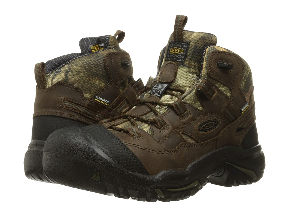 Keen Utility - Braddock Mid Waterproof Soft Toe (MO Infinity) Men's Work Lace-up Boots