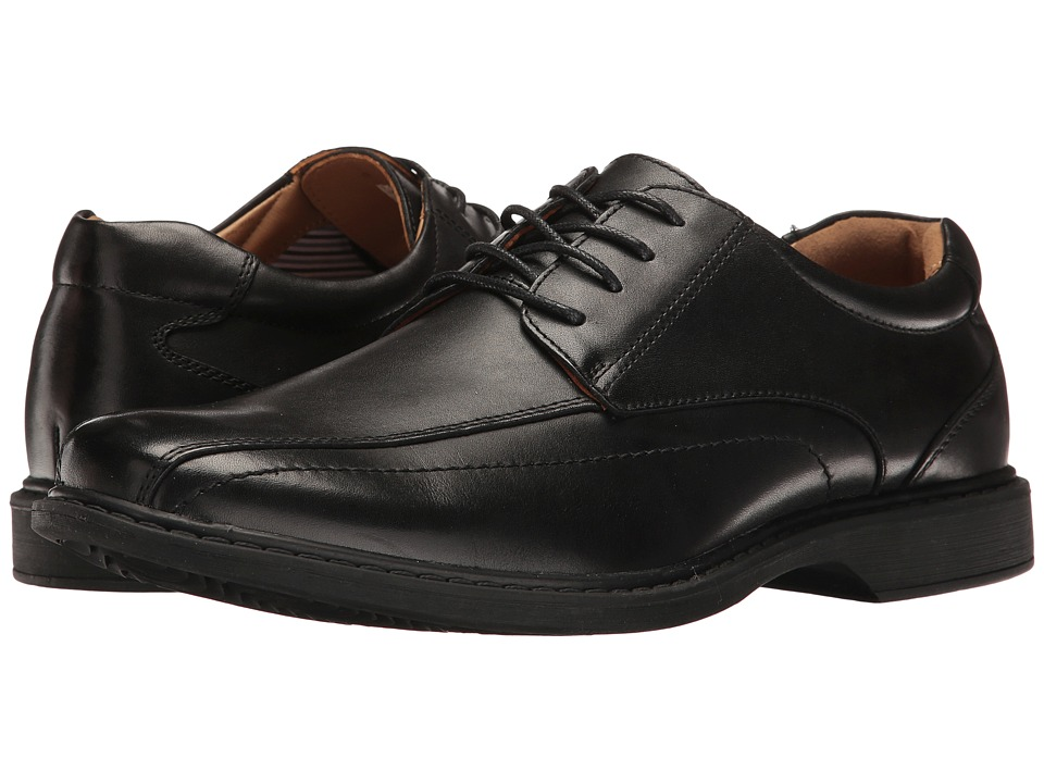 Hush Puppies - Pender Spy (Black Leather) Men's Shoes