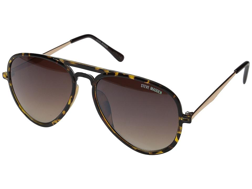 Steve Madden - Robbie (Tortoise) Fashion Sunglasses