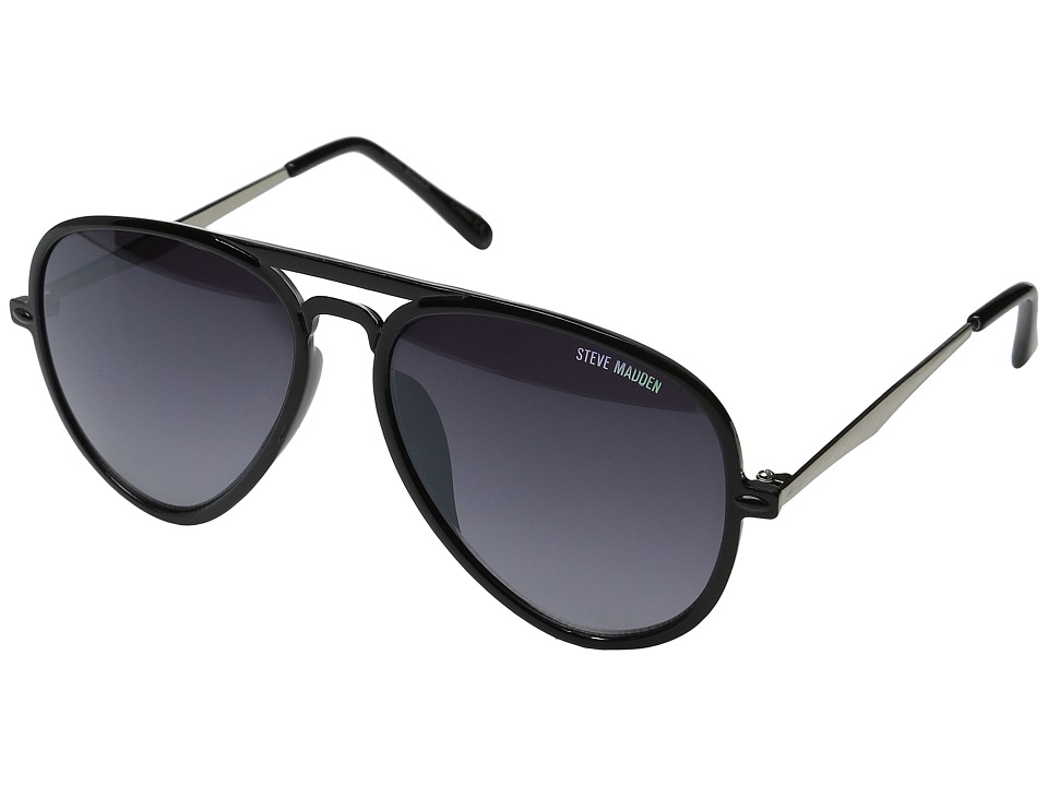 Steve Madden - Robbie (Black/Black) Fashion Sunglasses