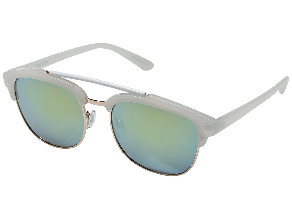 Steve Madden - Realee (Ivory) Fashion Sunglasses