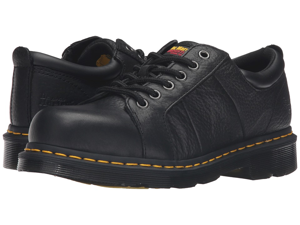 Dr. Martens - Mila ST (Black Industrial Bear) Women's Work Boots