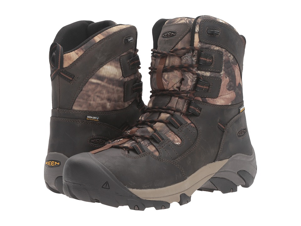 Keen Utility - Detroit 8 Soft Toe (MO Infinity) Men's Work Lace-up Boots