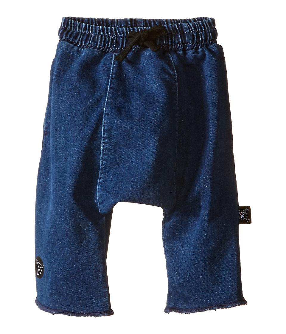 Nununu - Denim Harem Shorts (Infant/Toddler/Little Kids) (Denim) Kid's Shorts