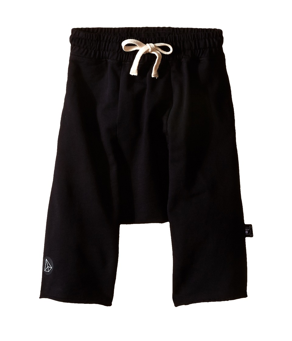 Nununu - Harem Shorts (Little Kids/Big Kids) (Black) Kid's Shorts