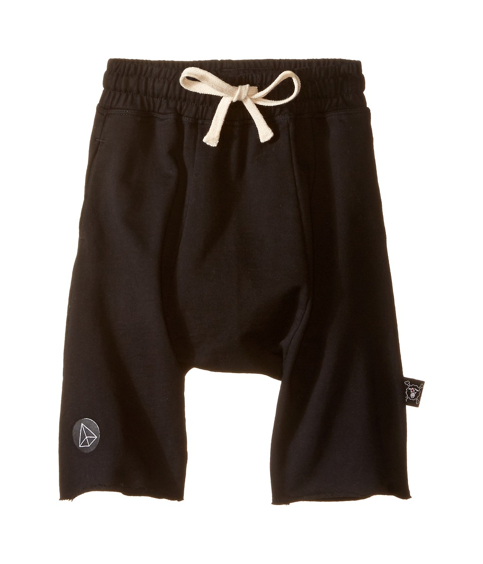Nununu - Harem Shorts (Infant/Toddler/Little Kids) (Black) Kid's Shorts
